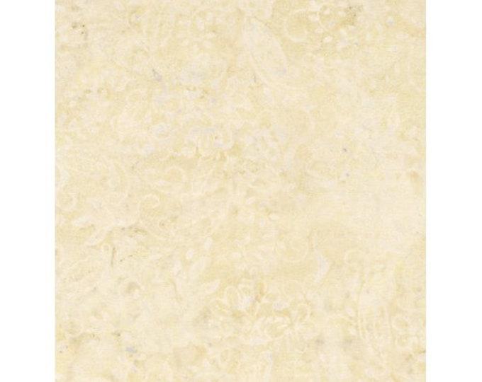 Timeless Treasures Tonga Batiks Cream Beige Yellow B4914 Vanilla Batik Fabric BTY