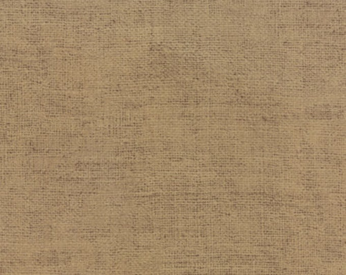 Moda Because of the Brave Burlap Tan Rustic Weave American Patriotic Soldier Fabric 32955-111 BTHY