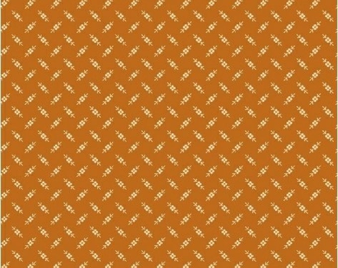 Windham Tried and True Orange with Cream Reproduction Civil War Fabric BTY 43197-5