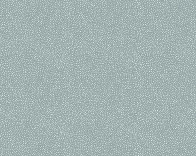 Free Spirit Kelmscott by Morris & Co. Seaweed Dot Aqua Light Blue Teal Fabric PWWM008 BTY
