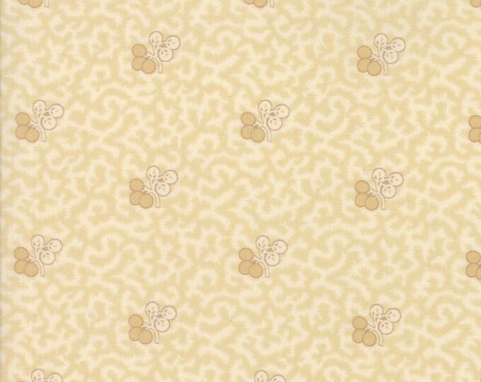 Moda Betsy Chutchian Hopes Journey Cream Beige Floral Flower Fabric BTY 31530-11