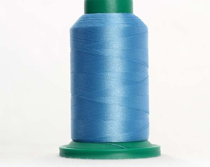 ISACORD Polyester Embroidery Thread Color 3830 Surfs Up 1000m