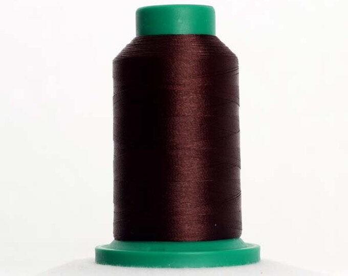 ISACORD Polyester Embroidery Thread  Color 1366 Mahogany 1000m