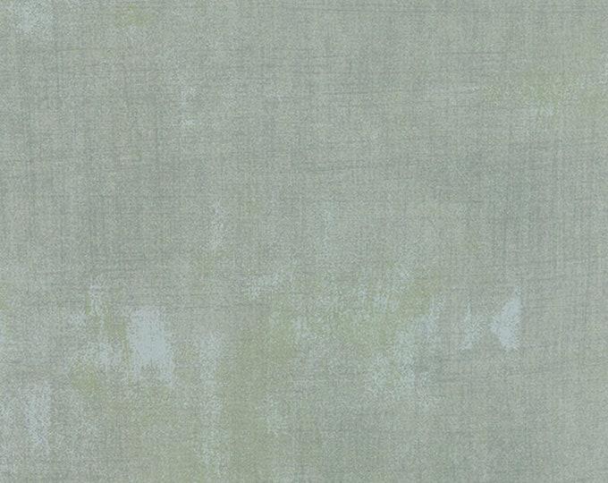 Moda Grunge Basics BLEU Gray Grey Green Mottled Background Fabric 30150-275 BTY