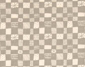 Cotton and Steel Printshop Alexia Abegg Grid Grey 4037-001 BTY