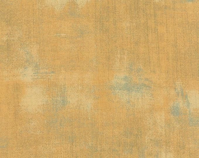 Moda Basic Grey Grunge Mon Ami MOUTARDE Mustard Gold 30150-273 Fabric BTY