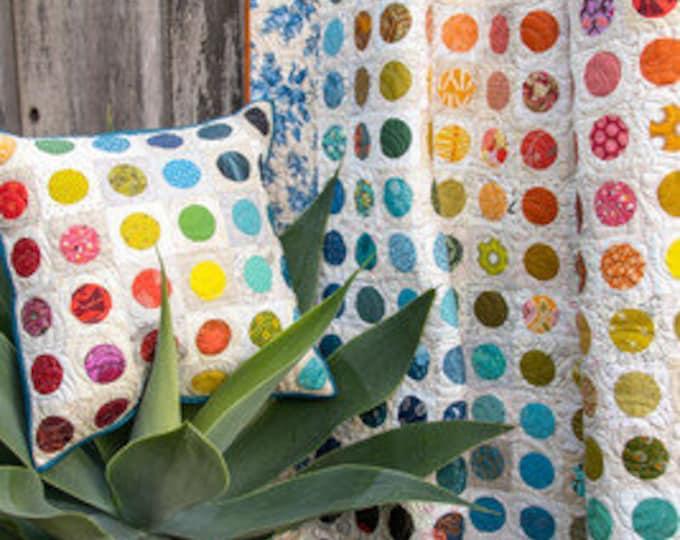 Dot Dot Dot Laundry Basket Quilt by Edyta Sitar