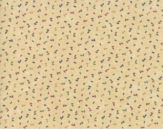Moda Kansas Troubles Favorites 2019 Tan Multi Confetti Civil War Fabric 9601-11 BTY