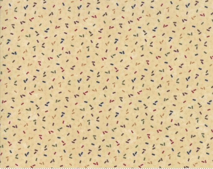 Moda Kansas Troubles Favorites 2019 Tan Multi Confetti Civil War Fabric 9601-11 BTY