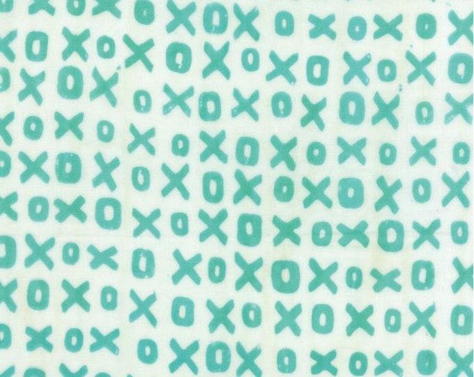 Moda Studio M Whispers Double Gauze Batiks XOXO Pond Teal 4340-12 BTY