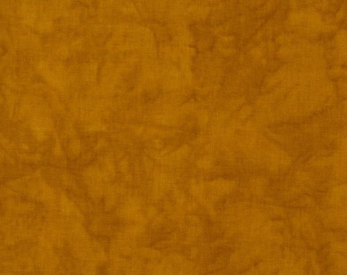 RJR Handspray Mottled Goldenrod Gold Rust Copper Tonal Fabric 4758-072 BTY
