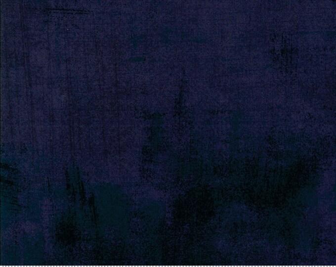 Moda Grunge Basics Nova New BLUE GRAPHITE Dark Navy Blue Mottled Background Fabric 30150-505 BTY