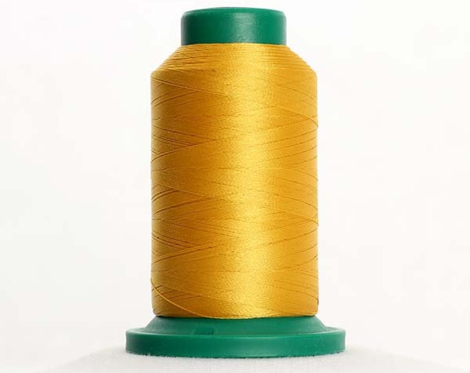 ISACORD Polyester Embroidery Thread Color 0504 Mimosa 1000m