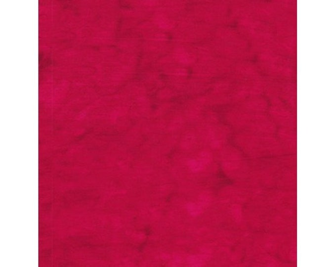 Anthology Art Inspired Batik Jacqueline De Jonge Solids Red Fabric 1468 BTY