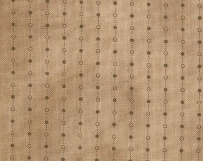 Moda Gatherings Favorites Tan Worn Dot Chain Primitive Gatherings Fabric 1060-11