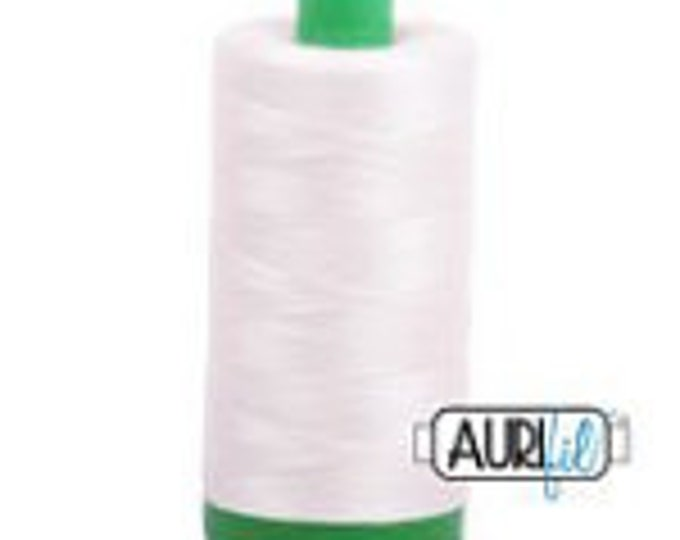 AURIFIL MAKO 40 Wt 1000m 1093y Color 2311 Muslin Quilt Cotton Quilting Thread