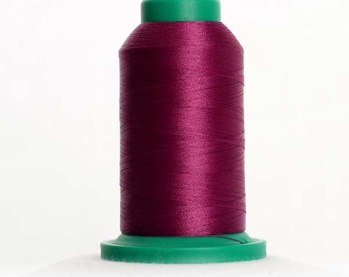 ISACORD Polyester Embroidery Thread Color 2711 Dark Current 1000m