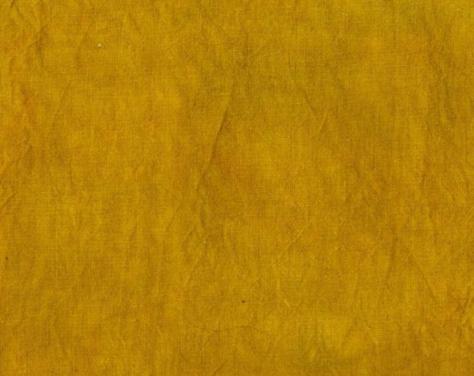 Windham Palette Marcia Derse Tonal Solid MUSTARD Curry Yellow Modern Fabric 37098-6 BTHY