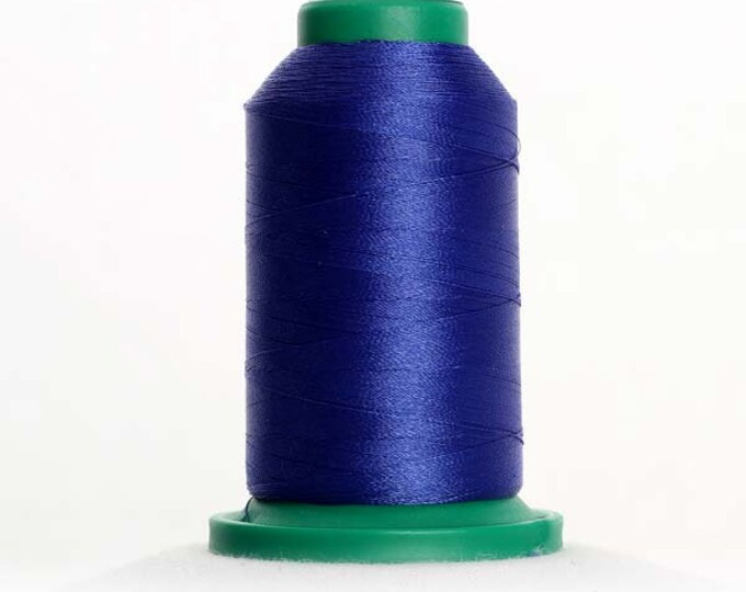 ISACORD Polyester Embroidery Thread Color 3335 Flag Blue  1000m