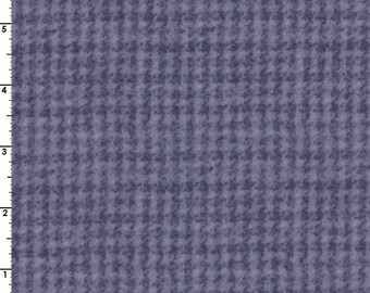 Maywood WOOLIES Violet Houndstooth MASF-18503-V Flannel Fabric BTY