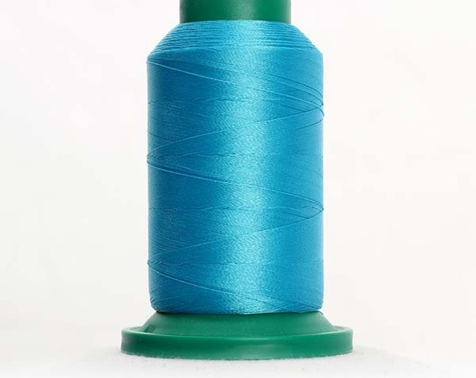 ISACORD Polyester Embroidery Thread Color  4111 Turquoise 1000m