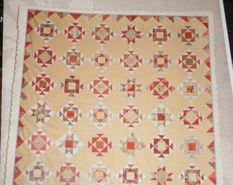 Miss Rosie's Marguerite Fat Quarter or 1/8 Friendly Quilt Pattern
