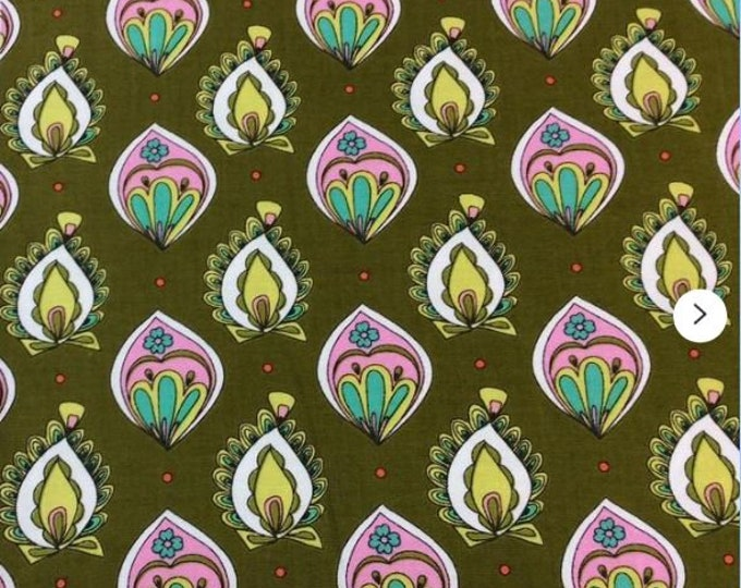 Quilting Treasures Ink & Arrow Paloma Green 1649-26103-G Fabric BTY