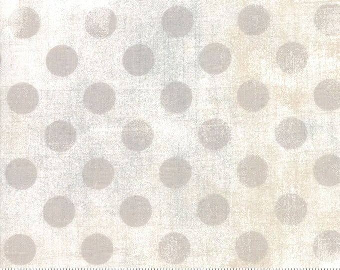 Moda Basic Grunge WHITE PAPER Hits the Spot 30149-11 Fabric BTY