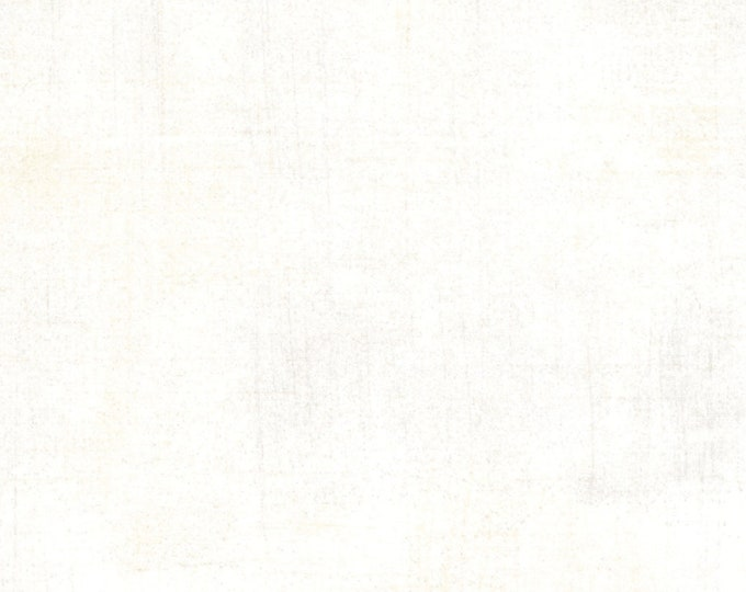 Moda Basic Grey Grunge VANILLA Off White Cream 30150-91 Fabric 2.25 yds