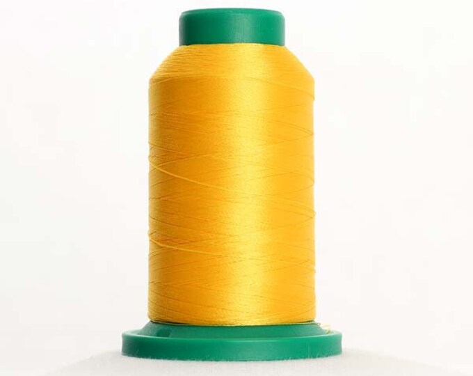 ISACORD Polyester Embroidery Thread Color 0608 Sunshine 1000m