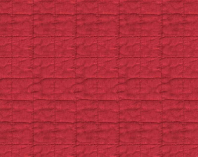 "p&B Textiles/Washington Street Studio 108"" Wide Back Historical Quilt Backs Quilt Red HIQB 4055 R Cotton Fabric BTY"