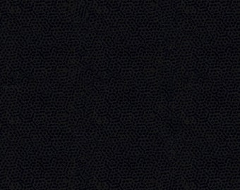 Andover Dimples Gail Kessler Basic Textured Blender Charcoal Black Grey Gray 1867-K1 BTY