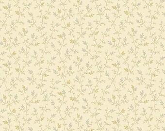 Andover Laundry Basket Quilts LBQ Edyta Sitar Sequoia Cream Beige Leaf Branch Fabric A-8756-L BTY