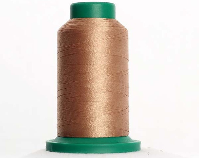 ISACORD Polyester Embroidery Thread Color 1123 Caramel Cream 1000m