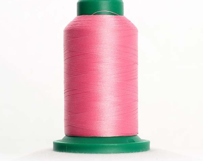 ISACORD Polyester Embroidery Thread Color 2560 Azalea Pink 1000m