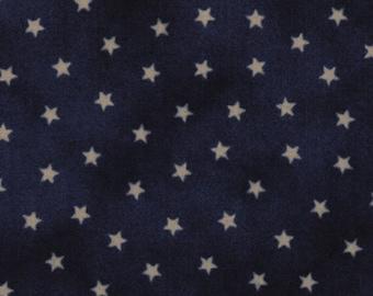Moda OLD GLORY Gatherings Blue Star Patriotic Primitive Gatherings Fabric 1074-24 BTHY