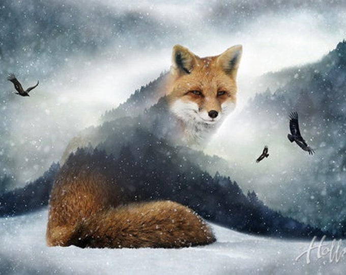Call To The Wild Fox P4358-293-Fox Hoffman Panel Sold By Panel