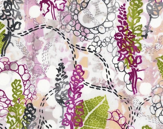 RJR Urban Garden Leslie Tucker Jenison Garden Story Sunset Walk Floral Fabric 3357-002 BTY