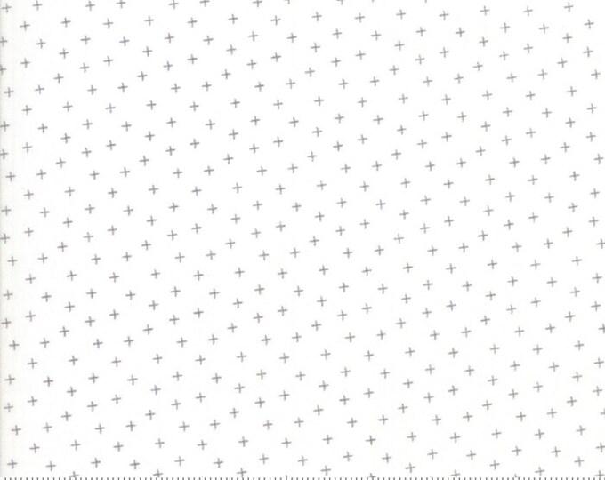 Moda Strawberry Jam Corey Yoder Floral Plus Cloud Dusk Gray Grey White 29067-31 Fabric BTY