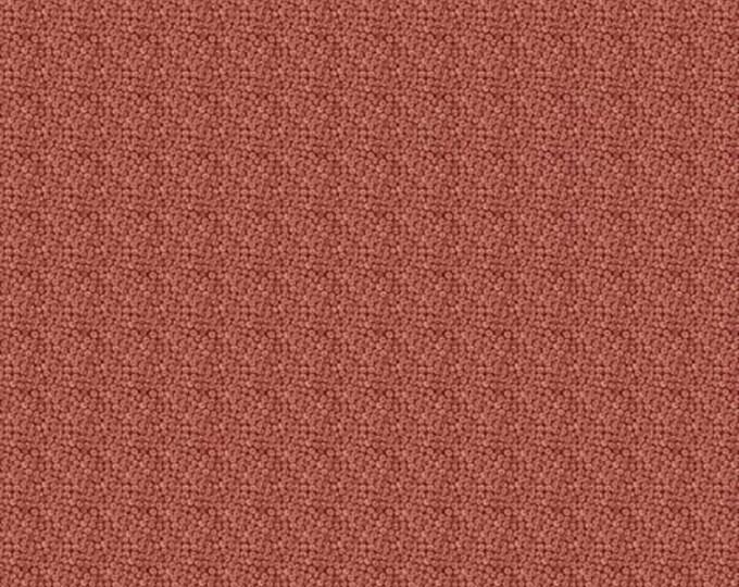 Free Spirit Kelmscott by Morris & Co. Florets Red Crimson Orange Dot Circle Fabric PWWM014 BTY
