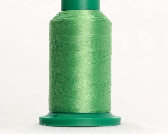 ISACORD Polyester Embroidery Thread Color 5610 Bright Mint 1000m