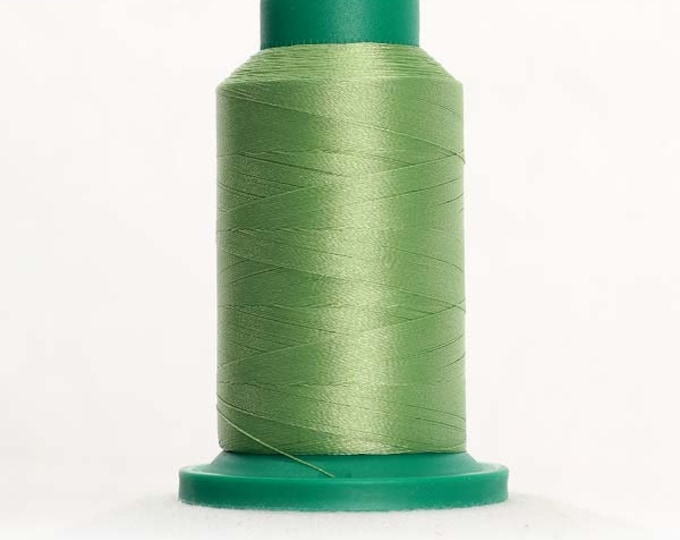 ISACORD Polyester Embroidery Thread Color 5822 Kiwi 1000m