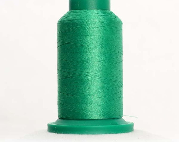 ISACORD Polyester Embroidery Thread Color 5613 Light Kelly 1000m