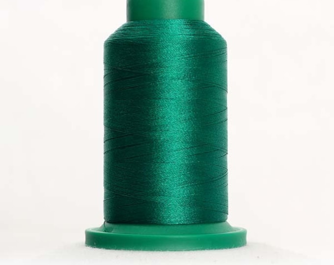 ISACORD Polyester Embroidery Thread Color 5415 Irish Green 1000m