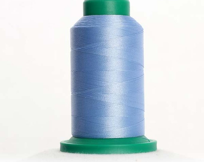 ISACORD Polyester Embroidery Thread Color 3652 Baby Blue 1000m