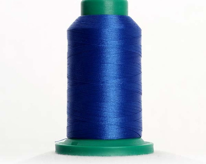 ISACORD Polyester Embroidery Thread Color 3522 Blue Isacord 1000m