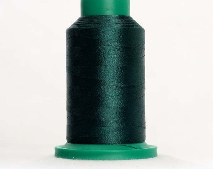 ISACORD Polyester Embroidery Thread Color 5326 Evergreen1000m