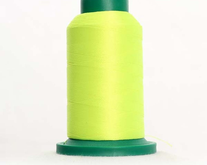 ISACORD Polyester Embroidery Thread Color 6010 Mountain Dew 1000m