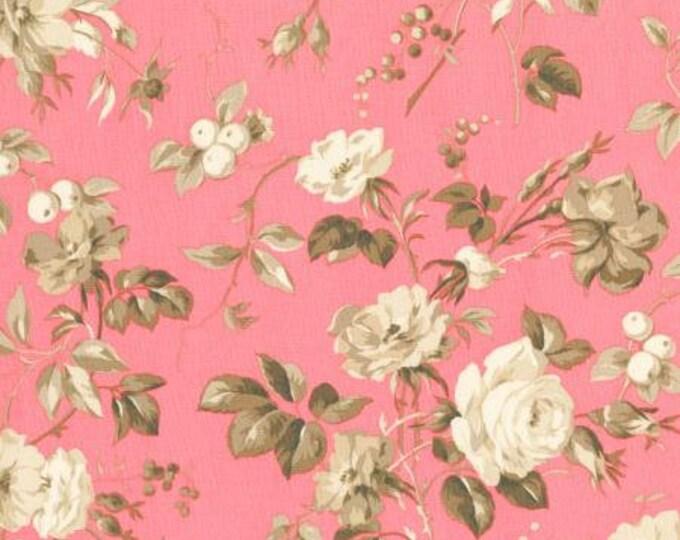 RJR  Jardin Gris - Crepe Suzette - Amaryllis Fabric 2730-003 BTY