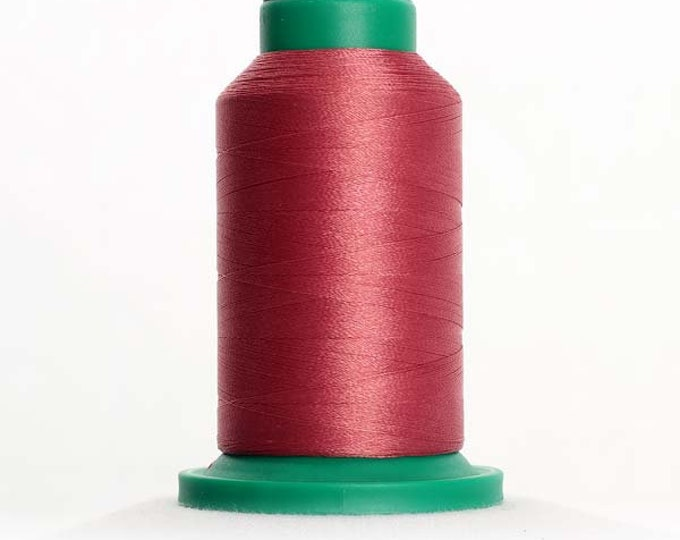 ISACORD Polyester Embroidery Thread Color 2241 Mauve 1000m